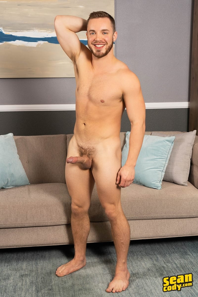 Men for Men Blog Gay-Porn-Pics-007-Stud-Daniel-muscled-Cam-sweaty-bareback-ass-fucking-SeanCody Studly Daniel leads sculpted Cam through a sweaty hands on yoga session before bareback ass fucking Sean Cody