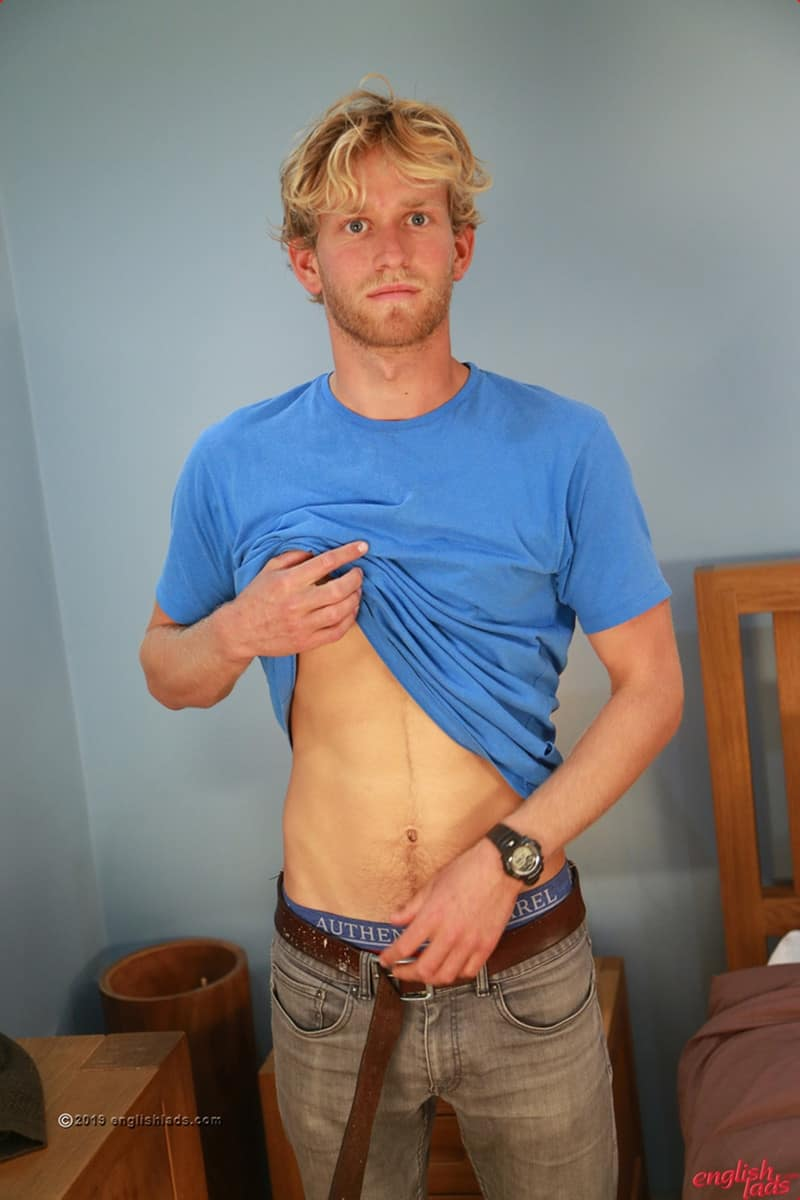 Men for Men Blog Gay-Porn-Pics-008-Sam-Dillon-Sexy-ripped-blonde-dude-strips-naked-wanking-huge-uncut-cock-EnglishLads Sexy ripped blonde dude Sam Dillon strips naked wanking his huge uncut cock English Lads