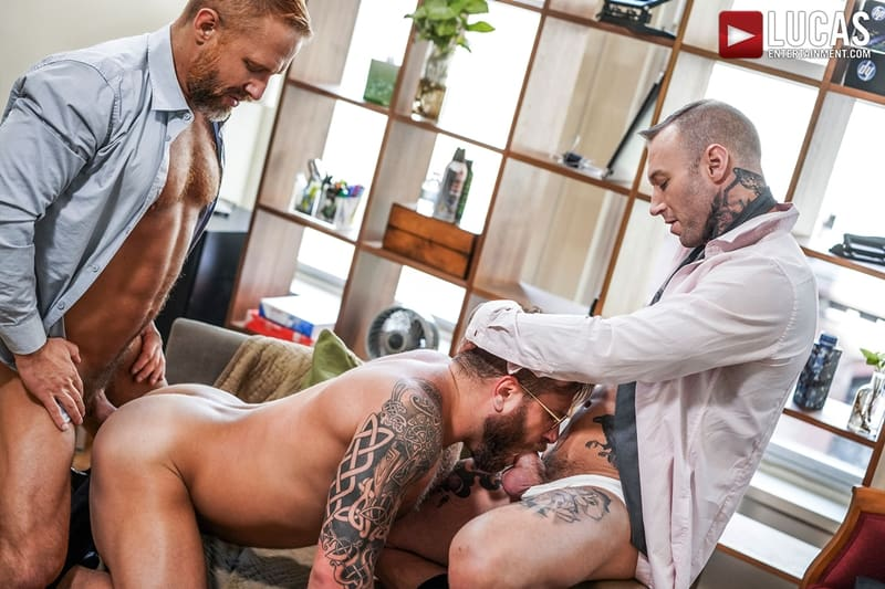 Riley-Mitchel-services-his-bosses-Dylan-James-and-Dirk-Caber-LucasEntertainment-011-Gay-Porn-Pics