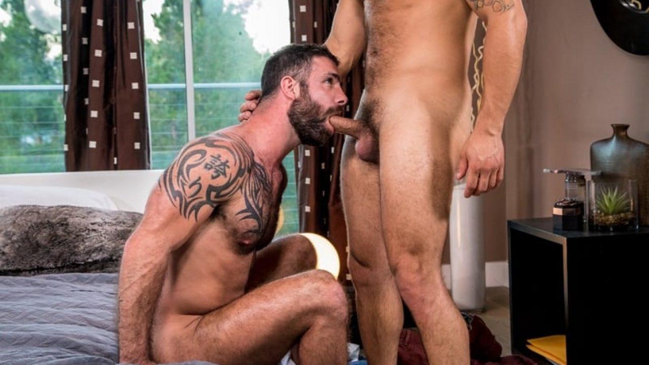 Adam Ramzi Porn Masters horny stepbrothers hunk adam ramzi fucks hairy chested stud