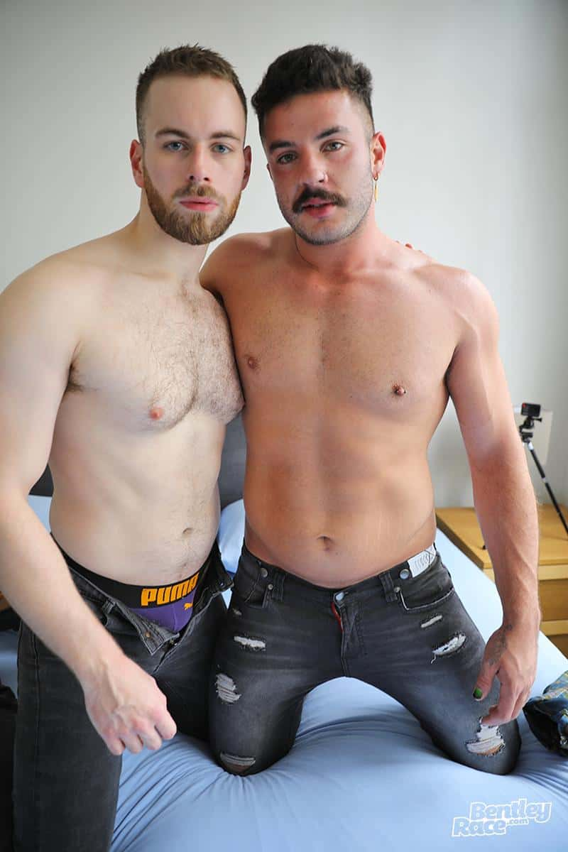 Zak Bray hot bubble ass raw fucked bearded British lad Max Miller huge uncut dick 5 gay porn pics - Zak Bray's hot bubble ass raw fucked by bearded British lad Max Miller's huge uncut dick