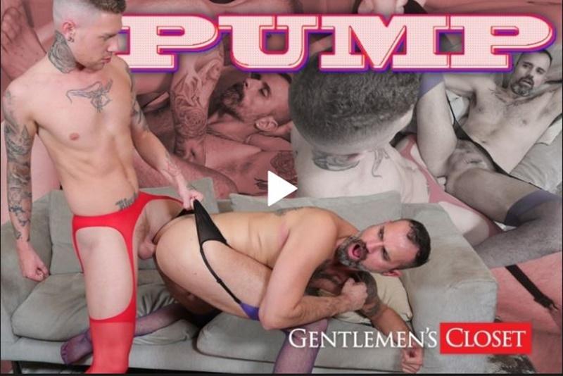 Gentlemens closet Carlos Ventura Danny Gunn Pump honest gay porn site review - Gentlemen's Closet – Gay Porn Foot Fetish Site Review