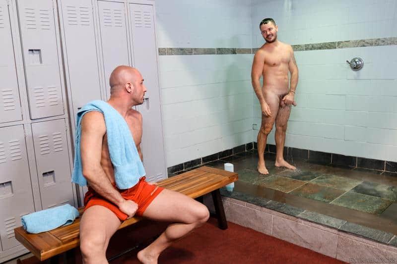 Locker room sex hottie hung stud Valentin Petrov huge dick bareback fucking Greg Riley hot asshole 2 gay porn pics - Locker room sex hottie hung stud Valentin Petrov's huge dick bareback fucking Greg Riley's hot asshole