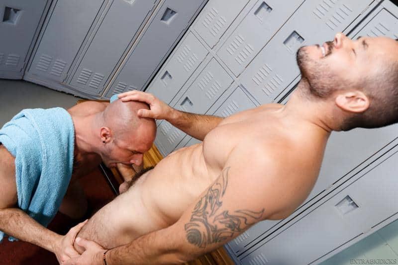 Locker room sex hottie hung stud Valentin Petrov huge dick bareback fucking Greg Riley hot asshole 7 gay porn pics - Locker room sex hottie hung stud Valentin Petrov's huge dick bareback fucking Greg Riley's hot asshole